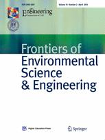 Frontiers of Environmental Science & Engineering