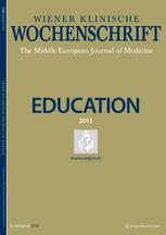 Wiener klinische Wochenschrift Education