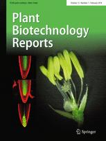 Plant Biotechnology Reports