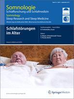 Somnologie - Schlafforschung und Schlafmedizin