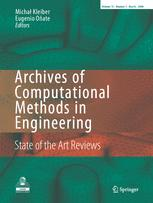 Archives of Computational Methods in Engineering