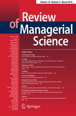 Review of Managerial Science cover image