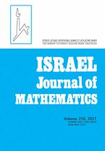 Israel Journal of Mathematics