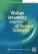 Wuhan University Journal of Natural Sciences