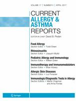 Current Allergy and Asthma Reports