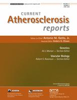Current Atherosclerosis Reports