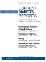 Current Diabetes Reports