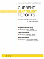 Current Hepatology Reports