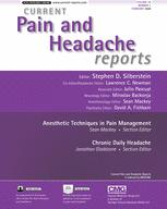 Current Pain and Headache Reports