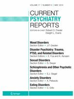 Current Psychiatry Reports