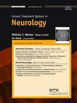 Current Treatment Options in Neurology