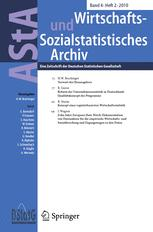 AStA Wirtschafts- und Sozialstatistisches Archiv