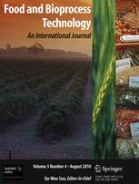 Food and Bioprocess Technology