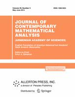 Journal of Contemporary Mathematical Analysis