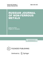 Russian Journal of Non-Ferrous Metals