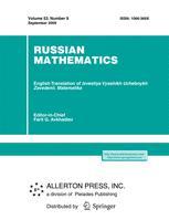 Russian Mathematics