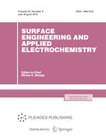 Surface Engineering and Applied Electrochemistry
