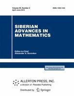 Siberian Advances in Mathematics