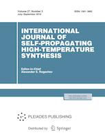 International Journal of Self-Propagating High-Temperature Synthesis