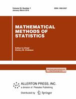 Mathematical Methods of Statistics