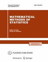 Mathematical Methods of Statistics