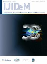 International Journal on Interactive Design and Manufacturing (IJIDeM)