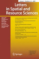 Letters in Spatial and Resource Sciences