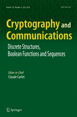 Cryptography and Communications
