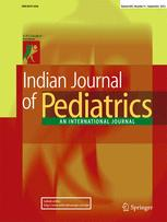 Indian Journal of Pediatrics