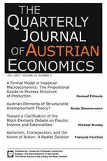The Quarterly Journal of Austrian Economics