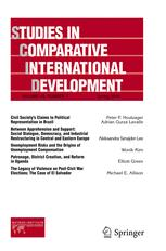 Studies in Comparative International Development