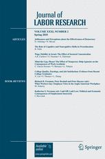 Journal of Labor Research