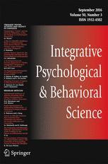 Integrative Psychological and Behavioral Science
