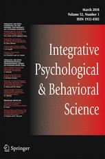 Integrative Psychological and Behavioral Science