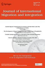Journal of International Migration and Integration