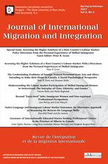 Journal of International Migration and Integration / Revue de l'integration et de la migration internationale