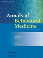 Annals of Behavioral Medicine