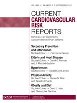 Current Cardiovascular Risk Reports