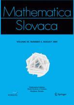 Mathematica Slovaca