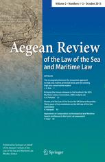 Aegean Review of the Law of the Sea and Maritime Law