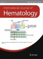International Journal of Hematology