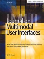 Journal on Multimodal User Interfaces