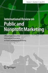 International Review on Public and Nonprofit Marketing