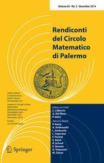 Rendiconti del Circolo Matematico di Palermo (1952 -)
