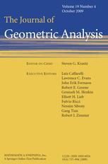 Journal of Geometric Analysis