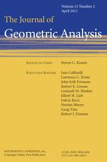 Journal of Geometric Analysis