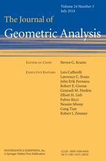 The Journal of Geometric Analysis