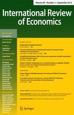 International Review of Economics