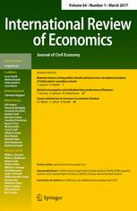International Review of Economics
