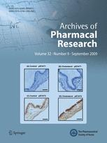Archives of Pharmacal Research